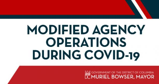Image for Modified Agency Operations during COVID-19