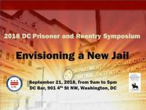 2018 DC Prisoner and Reentry Symposium Image